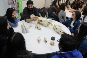 Escolares conocen Medicina Veterinaria
