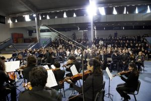 Camerata UNAB se presenta en The Newland School