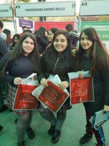 UNAB participa en Feria TES en Colegio Jorge Huneeus Zegers