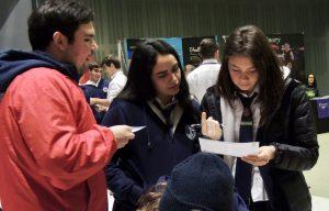 Feria G9: UNAB participa en Santiago College