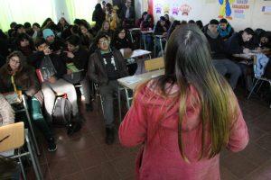30 años en 30 colegios: Charla de Prevención