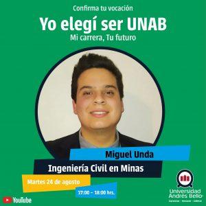 Yo elegí ser UNAB 2021 -Ingeniería Civil en Minas
