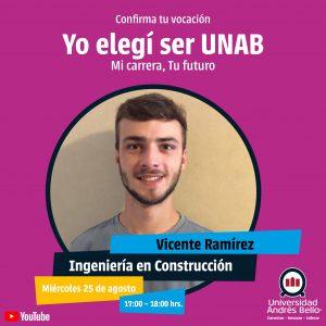 Yo elegí ser UNAB 2021 - Ingeniería en Construcción