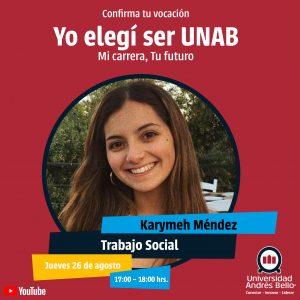 Yo elegí ser UNAB 2021 - Trabajo Social